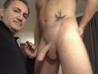 Mr BigHOLE Big Ass Gay Escort Fucked in the Hotel Room