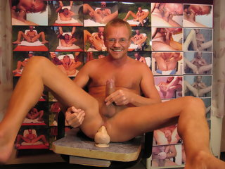 HARRI LEHTINEN LOVES AND ENJOYS BOTH OF HIS COCKS DEEP INSIDE!