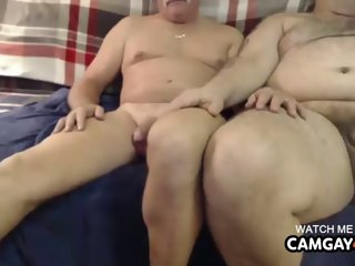 Suggest Model In Three Thick Men Groping Each Others Cocks